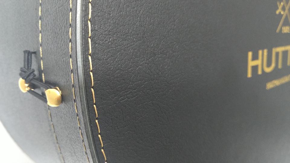 Cartone Stampato Pelle Nero