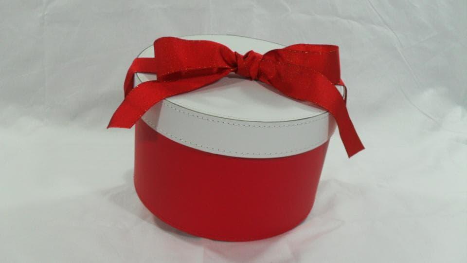 Fornitura Nastro in Raso Rosso per chiusura con fiocco