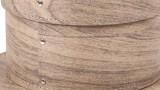 Set 3 Scatole Cappelliere Legno