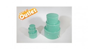 Stock Cappelliere Cocco Verde Acqua Art. Set/6